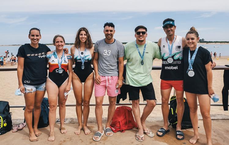 Excelentes resultados del CNU en el Sherry Swim 2021