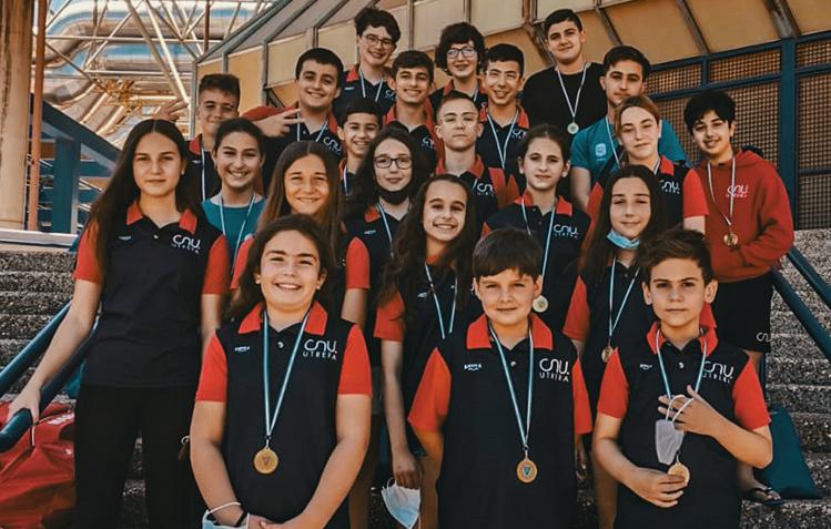El Club Natación Utrera participa en el II Trofeo Esperanza Iglesias.