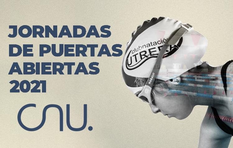 El CNU busca jóvenes nadadores promesa en sus jornadas de puertas abiertas.